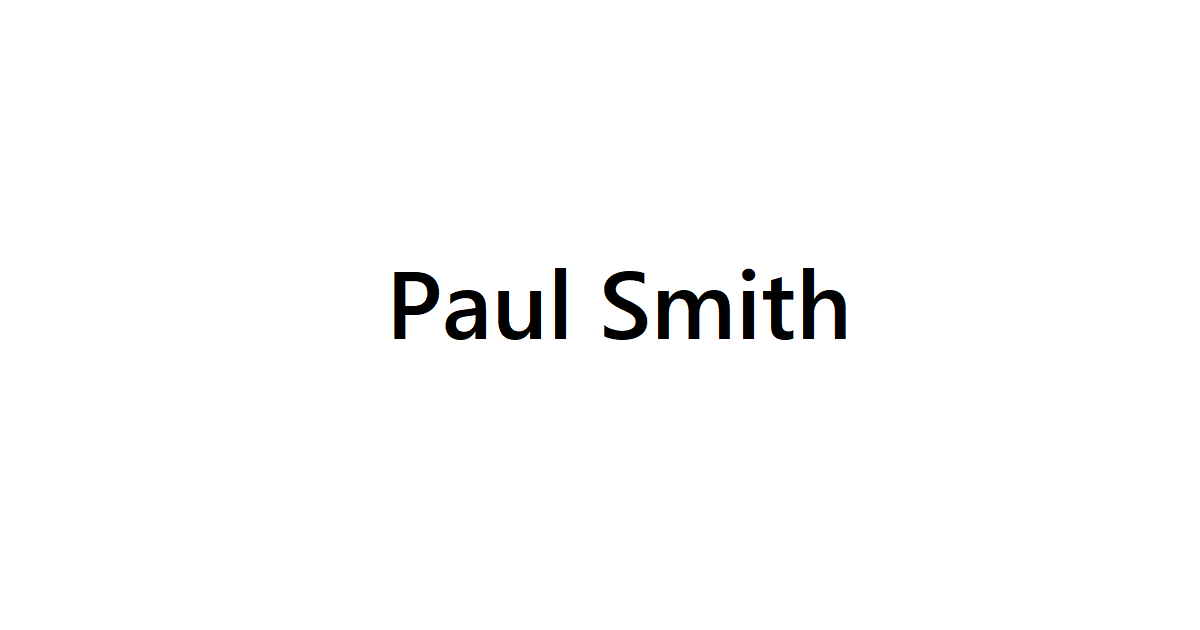 Paul Smith(ポールスミス)宅配買取