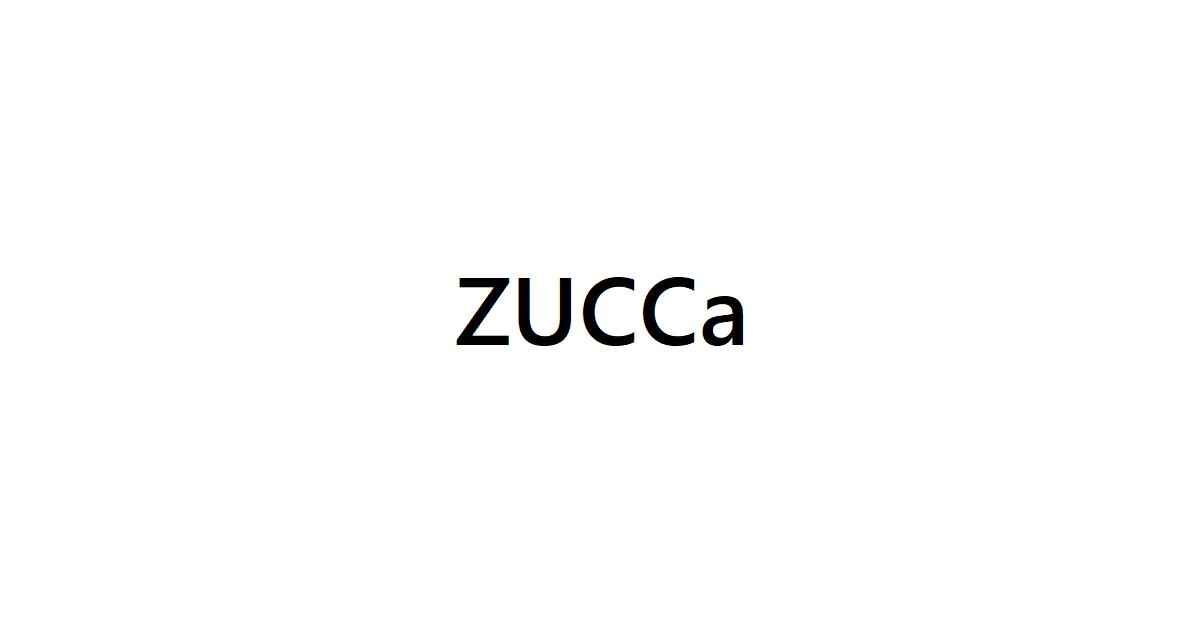 ズッカ(zucca)宅配買取